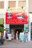 Turistas en Siem Reap, Camboya Fotografía de archivo