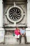 Turistas en Venecia Fotografía de archivo