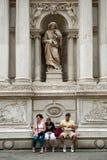 Turistas en Venecia Imágenes de archivo libres de regalías