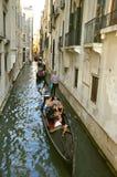 Turistas en Venecia, Italia Fotografía de archivo libre de regalías