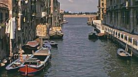 Turistas en Venecia almacen de video