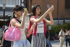 Turistas japoneses Foto de archivo libre de regalías