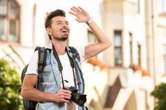 turister Fotografering för Bildbyråer