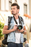 turister Arkivfoto