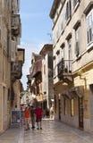 turister för porec för croatia istraparenzo Arkivfoto