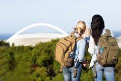Turister i Durban Royaltyfria Foton