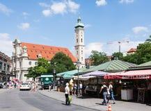 Turister i Munich Royaltyfria Bilder