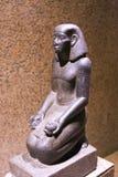 Turister på museet av Nubia Egypt Royaltyfria Bilder