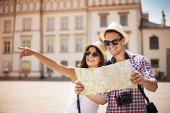 Turisti Immagine Stock Libera da Diritti