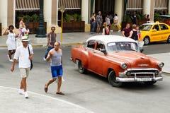 Turisti a Avana immagini stock