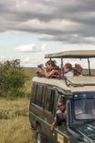 Turisti che catturano le foto Fotografie Stock