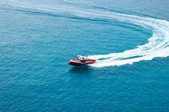 Turisti che navigano recreationally-2 fotografia stock libera da diritti