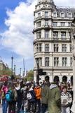 Turisti in città di Londra fotografia stock libera da diritti