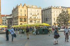 Turisti a Cracovia fotografie stock
