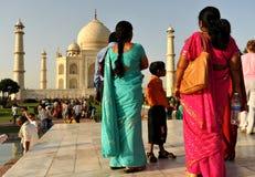 Turisti indiani Fotografia Stock Libera da Diritti