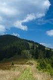 Turisti nelle montagne Immagine Stock Libera da Diritti
