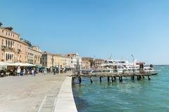 Turisti a Venezia, Italia Immagini Stock Libere da Diritti