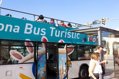 turistic的公共汽车 免版税库存图片