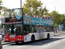 Turistic de bus van Barcelona, reis Royalty-vrije Stock Fotografie