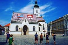 Turists Stock Photo
