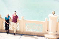 Turistsight i Dubai Royaltyfri Bild