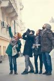 Turistsightstad Fotografering för Bildbyråer