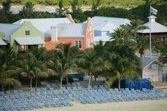 Turk Beach Resort grande imagens de stock
