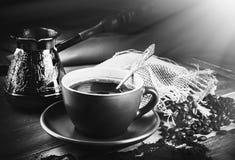 Turk and coffee Stock Photo