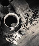 Turk and coffee Royalty Free Stock Photos