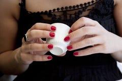 turk för kaffeförmögenhetkassör Arkivbild