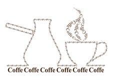 Turk, kaffe & kruka Royaltyfria Bilder