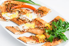 Turk Pide stock photography