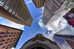 Turk& x27; s头大厦-上帝,罗德岛州 免版税图库摄影