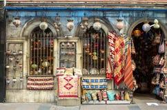 Turk shoppar arkivbilder