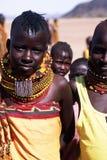 Turkana Kinder Lizenzfreie Stockbilder
