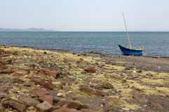 Turkana lake in Kenya Stock Images