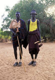 Turkana shepherds Stock Photography