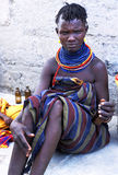 Turkana woman Royalty Free Stock Photo