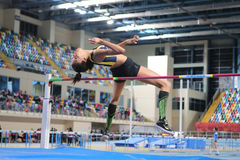 Turkcell Turkish Indoor Athletics Championships Royalty Free Stock Images