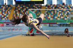 Turkcell Turkish Indoor Athletics Championships Royalty Free Stock Photo