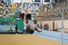 Turkcell Turkish Indoor Athletics Championships Royalty Free Stock Photography
