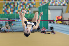 Turkcell Turkish Indoor Athletics Championships Stock Images