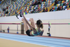 Turkcell Turkish Indoor Athletics Championships Royalty Free Stock Image