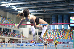 Turkcell Turkish Indoor Athletics Championships Stock Photos