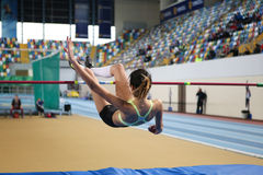 Turkcell Turkish Indoor Athletics Championships Stock Photo