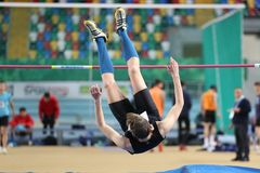 Turkcell Turkish U20 Indoor Athletics Championships Stock Photography