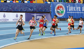Turkcell Turkish Youth Indoor Championships Stock Image
