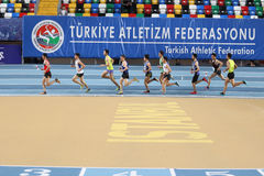 Turkcell Turkish Youth Indoor Championships Royalty Free Stock Photo