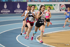 Turkcell Turkish Youth Indoor Championships Royalty Free Stock Photography
