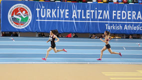 Turkcell Turkish Youth Indoor Championships Stock Photo